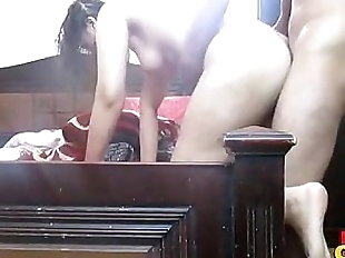 Indian amateur sonia bhabhi fucked in doggy..