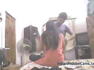 Real Indian College Couple Amateur Homemade Sex..