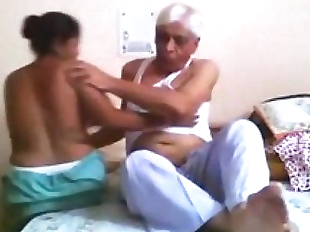 Desi Maid Fucked Hard By Old Uncle - 4 min
