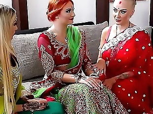 Pre-wedding Indian bride ceremony 9 min