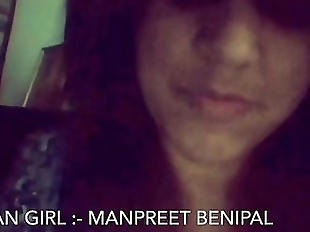 Desi Punjabi Girl Manpreet Showing Herself on..