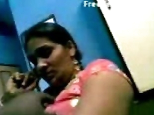 Horny telugu lady dancing and boobs fondled - 5..