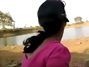 desi indian blowjob hard outdoor with bf - 6 min