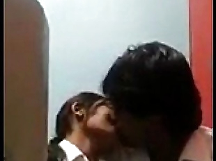 desi COLLEGE Students Kissing & Rubbing in..