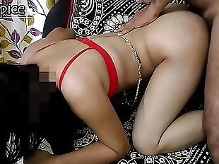 Sexy Indian Wife Fucked In Doggystyle Moaning in..
